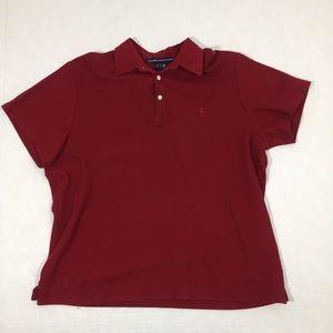 Vintage Men's Polo Ralph Lauren Golf Shirt Red L